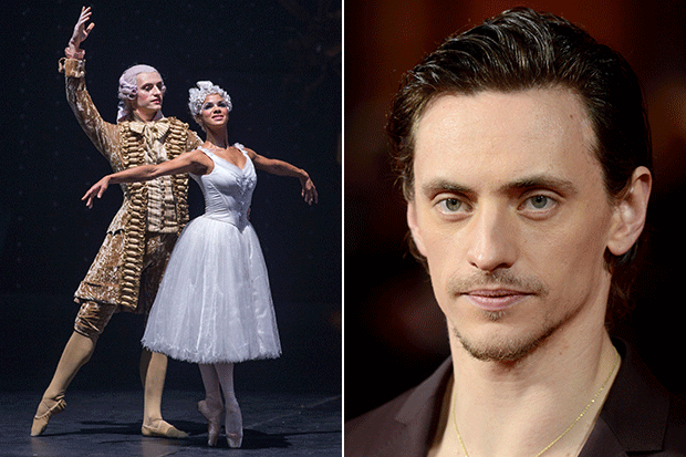 Sergei Polunin, Getty and Image.net