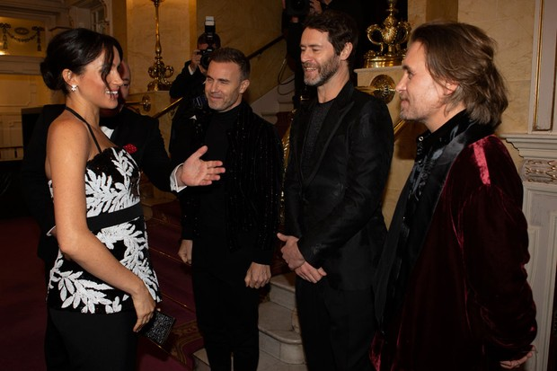 Meghan Markle and Take That at the Royal Variety Performance 2018 (Getty)