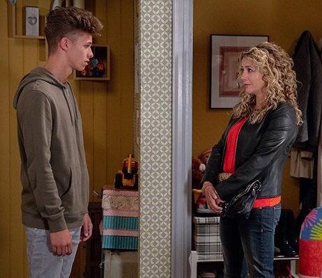 Jacob and Maya on Emmerdale