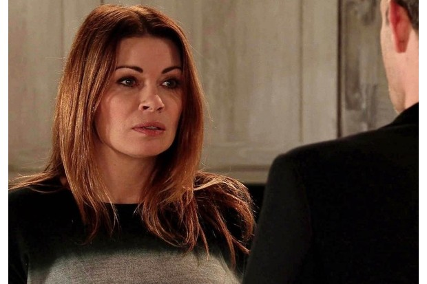 Carla (Alison King) on Coronation Street