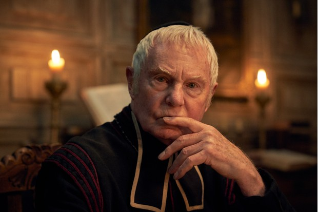 The Bishop played by Derek Jacobi