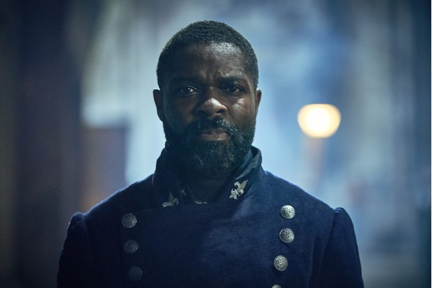 Javert played by David Oyelowo