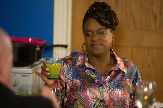 Kim (Tameka Empson) on EastEnders