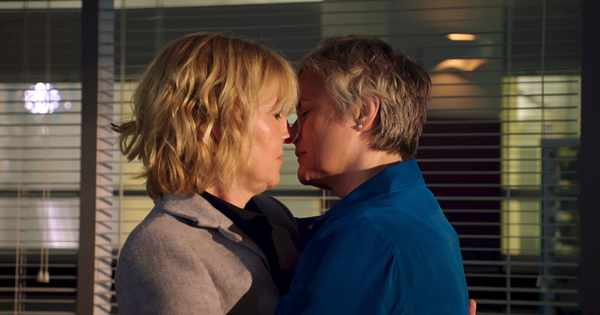 Relationship drama for Bernie and Serena on Holby City