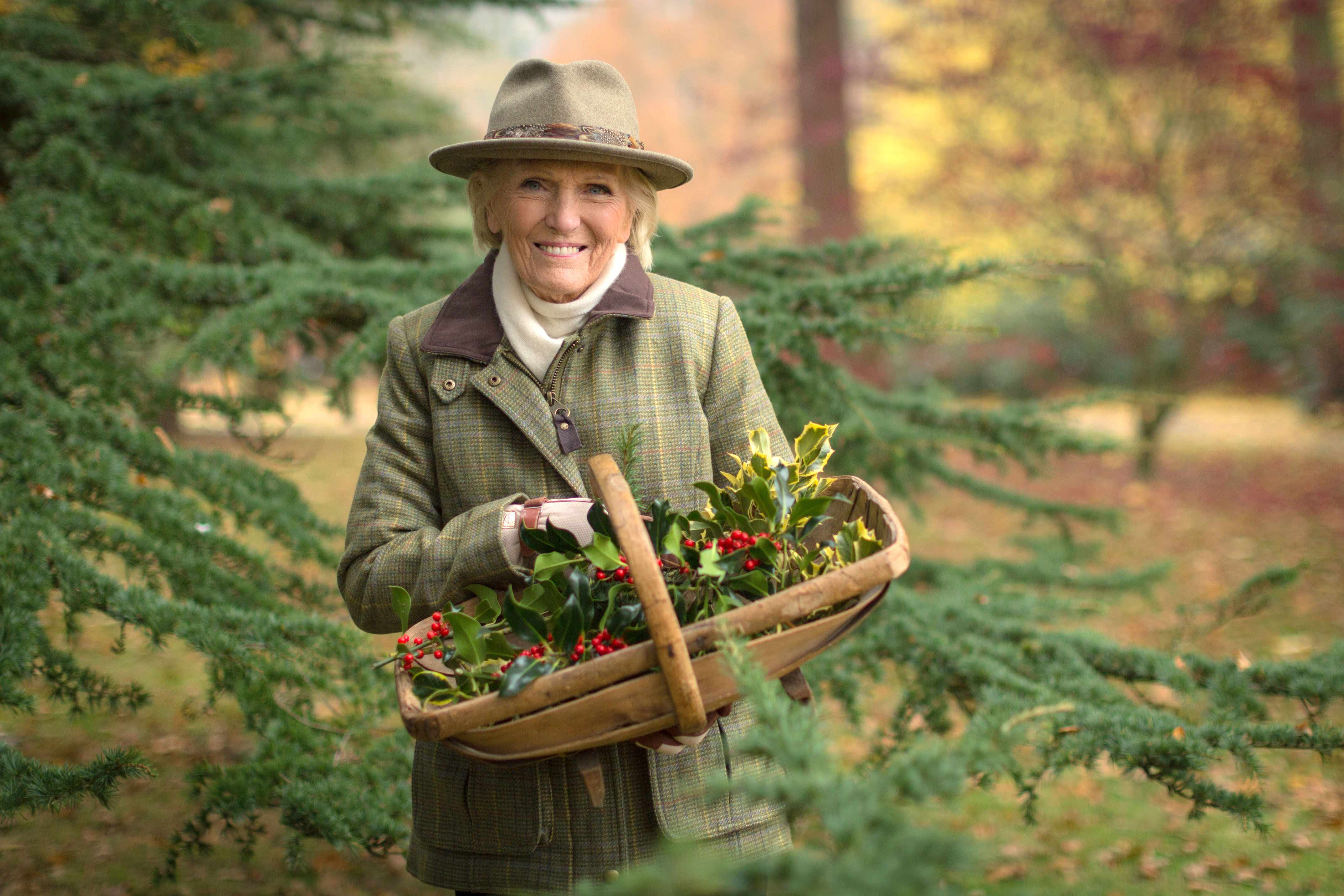 WARNING: Embargoed for publication until 00:00:01 on 27/11/2018 - Programme Name: Mary Berry's Country House at Christmas - TX: n/a - Episode: n/a (No. n/a) - Picture Shows: *STRICTLY EMBARGOED, NOT FOR PUBLICATION UNTIL 00:01HRS TUESDAY 27TH NOVEMBER 2018* Mary Berry - (C) Shine TV Ltd - Photographer: Craig Harman
