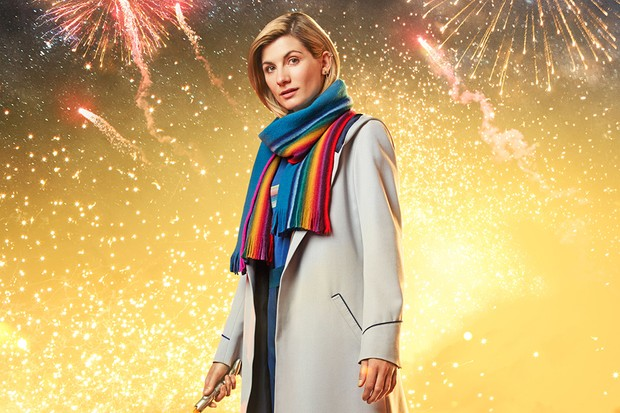 Jodie Whittaker in the Doctor Who New Year special (BBC)
