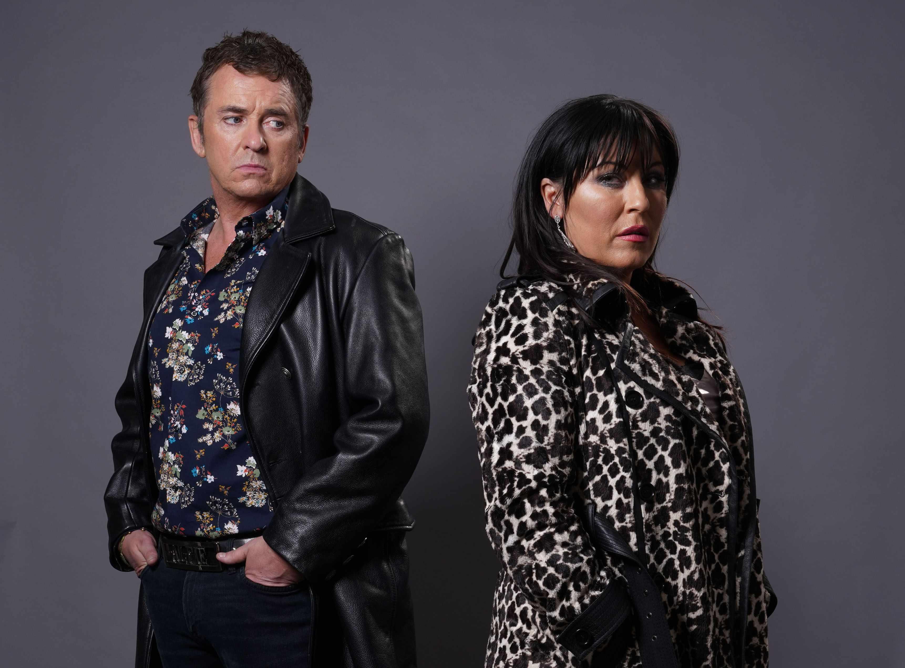 Alfie and Kat on EastEnders