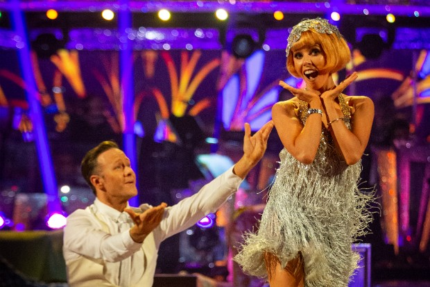 Stacey Dooley in Strictly Come Dancing