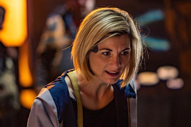Jodie Whittaker in Doctor Who: The Battle of Ranskoor Av Kolos (BBC)