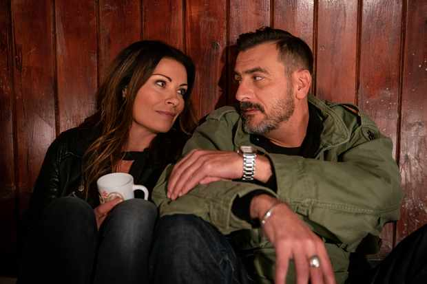 FROM ITV   STRICT EMBARGO - No use before Tuesday 11th December  2018  Coronation Street - Ep 9653  Monday 31st December 2018   Carla Connor [ALISON KING] warns Peter Barlow [CHRIS GASCOYNE] that the snooker hall is a money pit and challenges him to a game of snooker, suggesting if she wins he pulls out of the sale. Over a charged game, temperatures rise as they relive their past. The chemistry still very much alive between them will the pair admit their feelings?  Picture contact - David.crook@itv.com  Photographer - Andrew Boyce  This photograph is (C) ITV Plc and can only be reproduced for editorial purposes directly in connection with the programme or event mentioned above, or ITV plc. Once made available by ITV plc Picture Desk, this photograph can be reproduced once only up until the transmission [TX] date and no reproduction fee will be charged. Any subsequent usage may incur a fee. This photograph must not be manipulated [excluding basic cropping] in a manner which alters the visual appearance of the person photographed deemed detrimental or inappropriate by ITV plc Picture Desk. This photograph must not be syndicated to any other company, publication or website, or permanently archived, without the express written permission of ITV Picture Desk. Full Terms and conditions are available on  www.itv.com/presscentre/itvpictures/terms