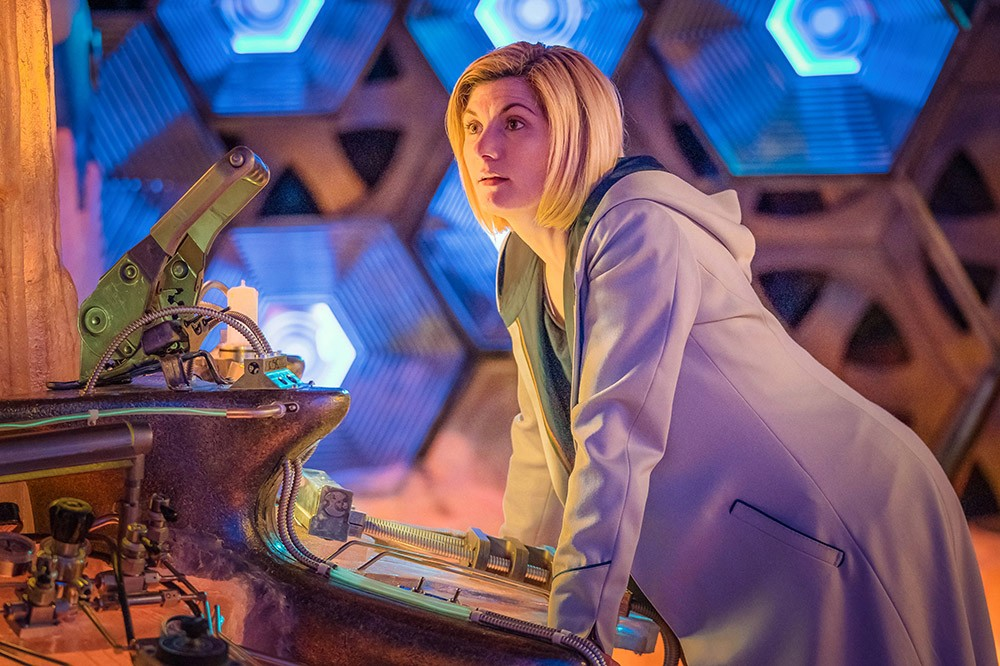 Jodie Whittaker in Doctor Who series 11 (BBC)