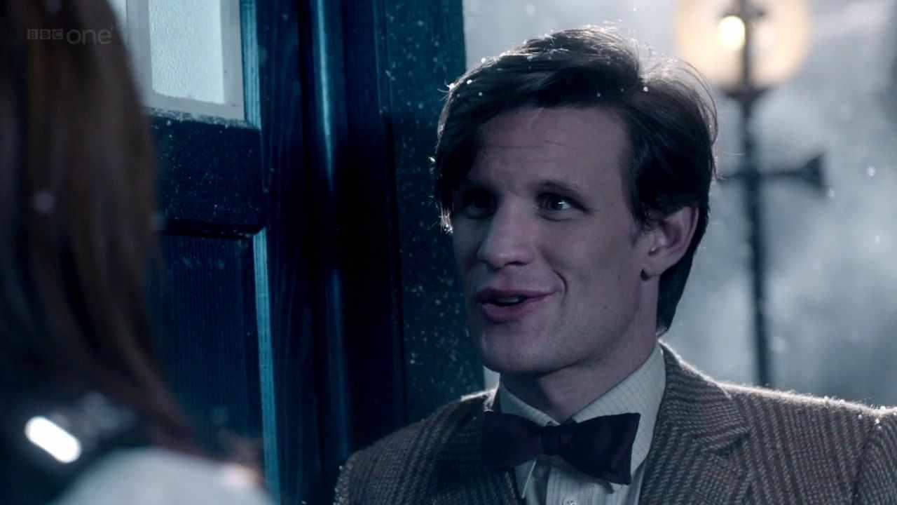 Matt Smith and Karen Gillan in Doctor Who: A Christmas Carol (BBC)