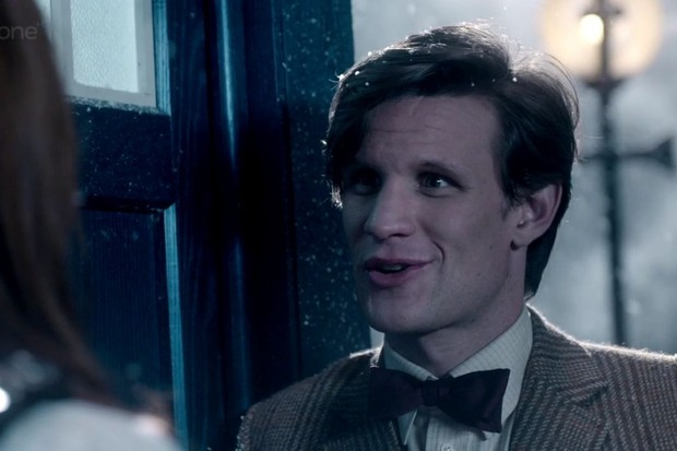 Matt Smith and Karen Gillan in Doctor Who: A Christmas Carol (BBC)