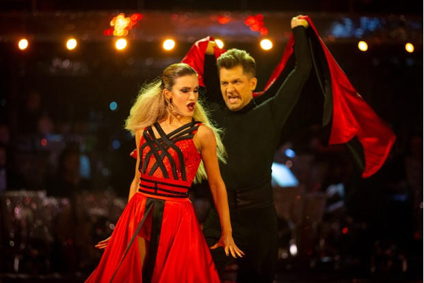 AShley Roberts in Strictly Come Dancing