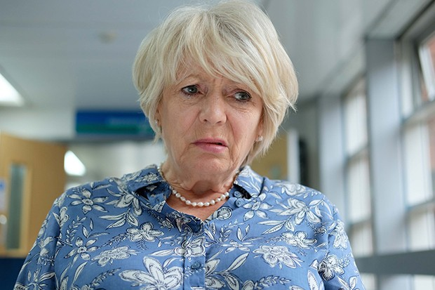 Alison Steadman plays Mary in BBC drama Care