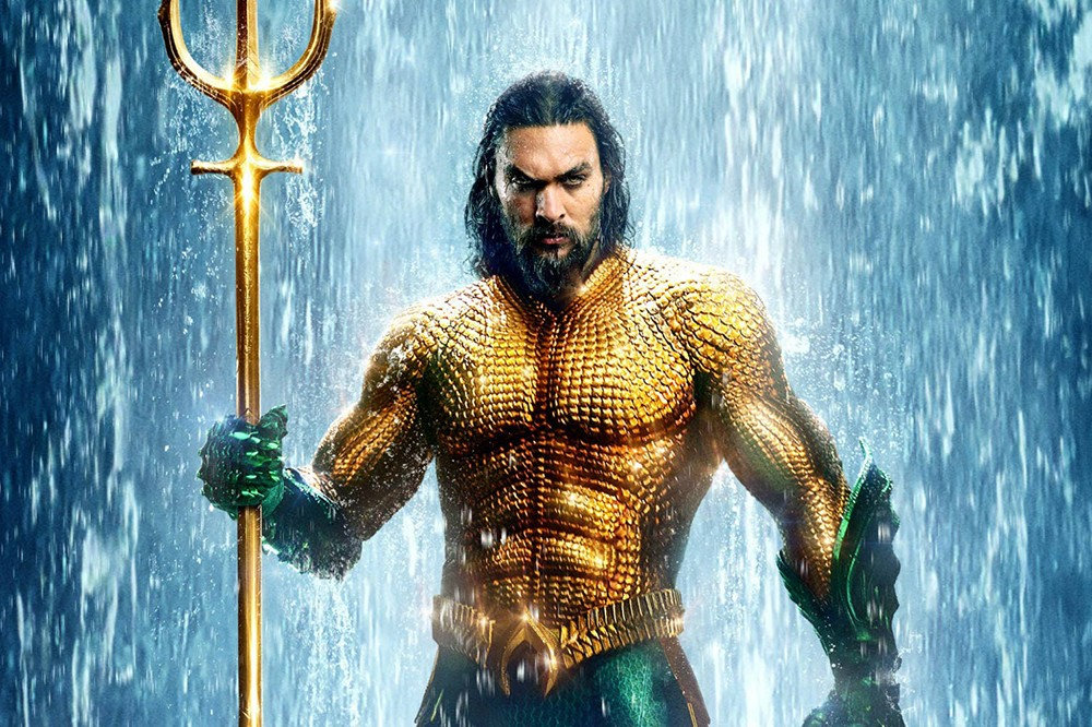 Jason Momoa in Aquaman (Warner Bros)