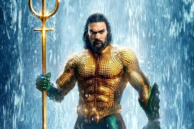 Jason Momoa in Aquaman (Warner Bros)