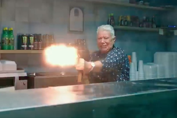 Screenshot Hellboy trailer 2019