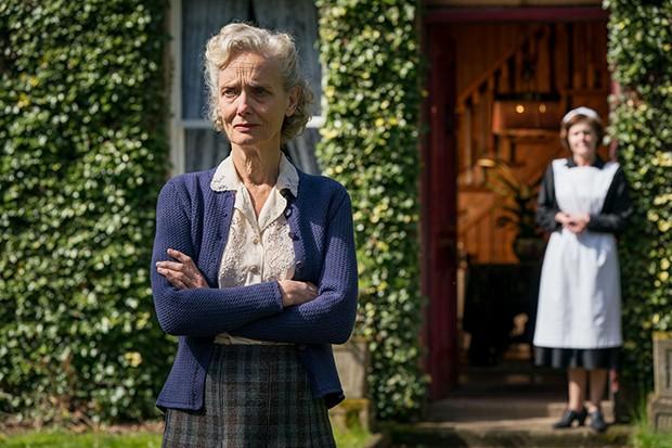 Barbara Marten plays Alison's mum Mrs McKelvie in Mrs Wilson