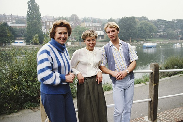 Betty Callaway with Torvill and Dean