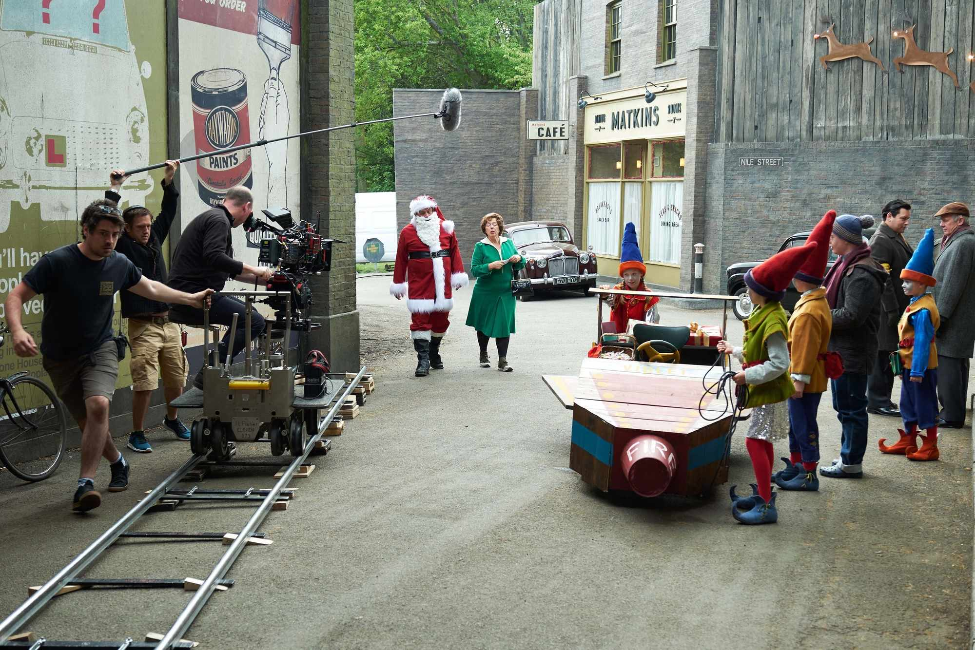 Call The Midwife S8 - Christmas Special 2018 BTS