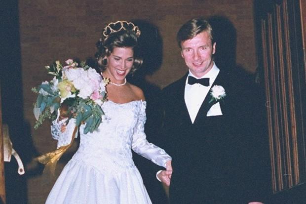 Christopher Dean marrying Jill Trenary