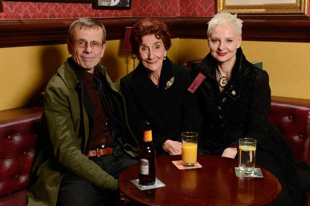 EastEnders, Tom Watt, June Brown, Linda Davidson