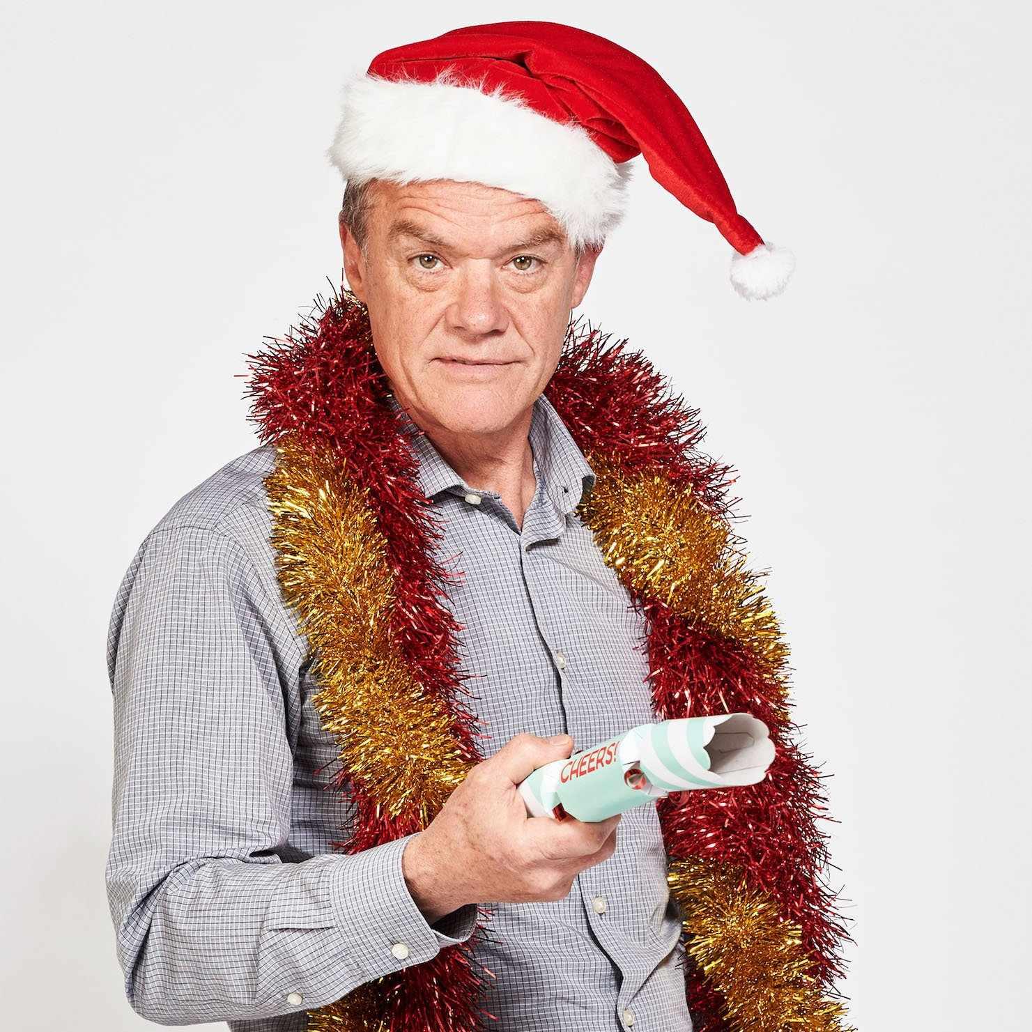 Neighbours Paul Robinson (Stefan Dennis) Christmas 2018
