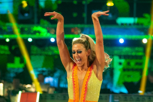 Faye Tozer in Strictly Come Dancing