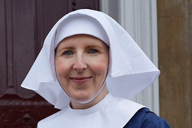 Fenella Woolgar plays Sister Hilda in Call the Midwife