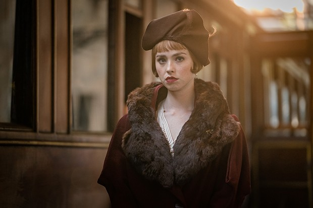 Freya Mavor as Thora Grey in The ABC Murders