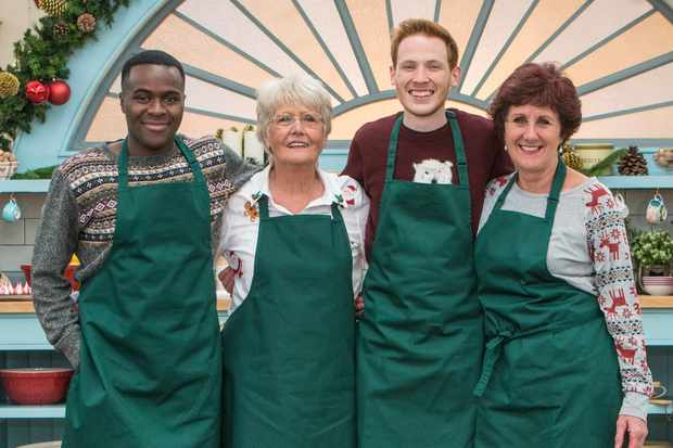 bake off 2018 christmas special who are the contestants in the