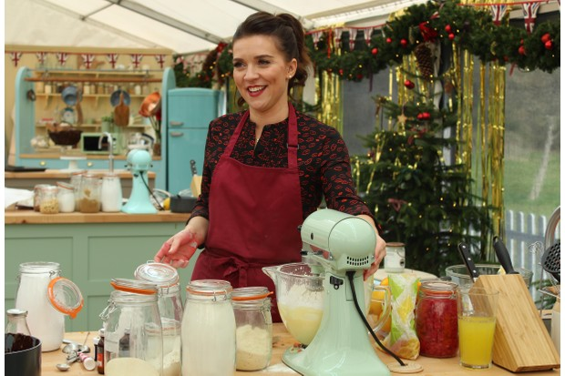 Candice Brown, The Great New Year's Bake Off (C4)