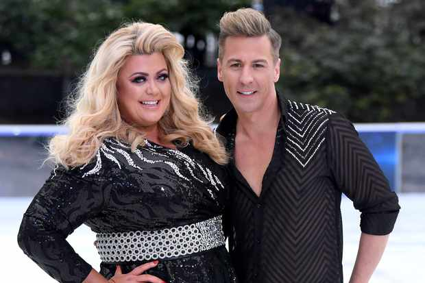 Dancing On Ice Gemma Collins (Getty)