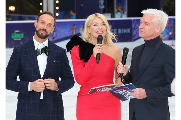 Dancing on Ice, Jason, Holly, Phil (Getty)