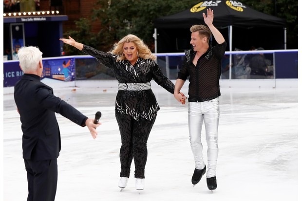 Gemma Collins Dancing on Ice Press Day (Getty)