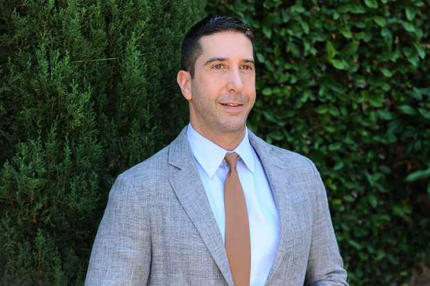 BEVERLY HILLS, CA - SEPTEMBER 25:  Actor David Schwimmer attends the Rape Foundation's annual brunch on September 25, 2016 in Beverly Hills, California.  (Photo by Jason LaVeris/FilmMagic)