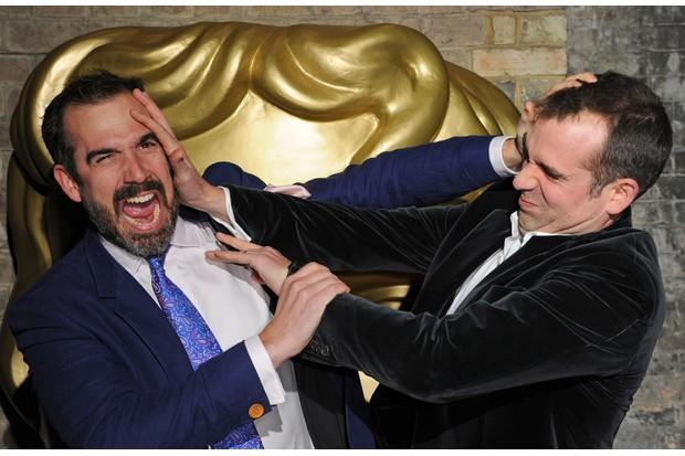 Dr Xand Van Tulleken and Dr Chris Van Tulleken attend the BAFTA Children's Awards (Getty)