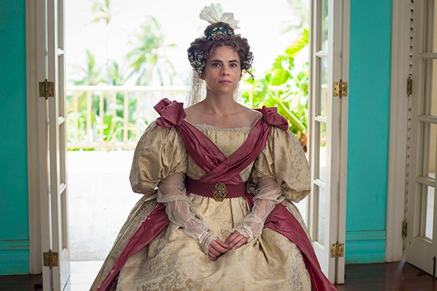 Hayley Atwell plays Miss Caroline in The Long Song