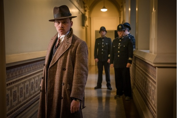 Inspector Crome Rupert Grint in The ABC Murders
