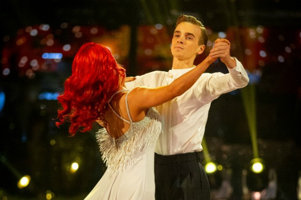 Joe Sugg in Strictly Come Dancing