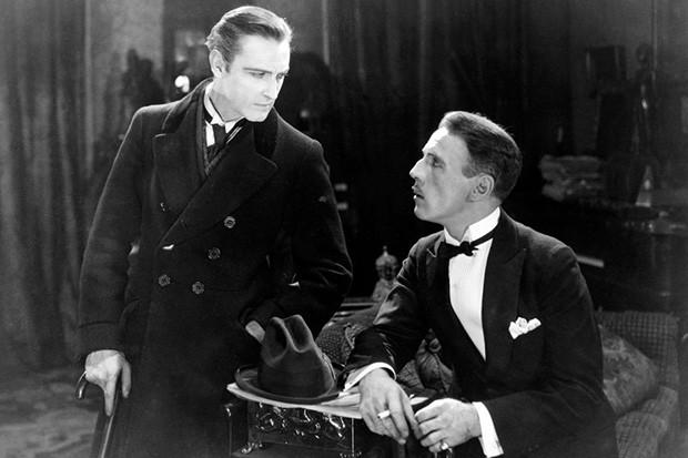 John Barrymore as Sherlock Holmes