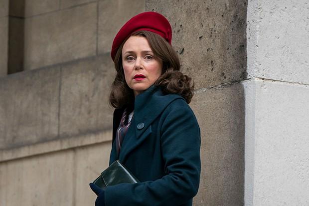 Keeley Hawes plays Dorothy in Mrs Wilson