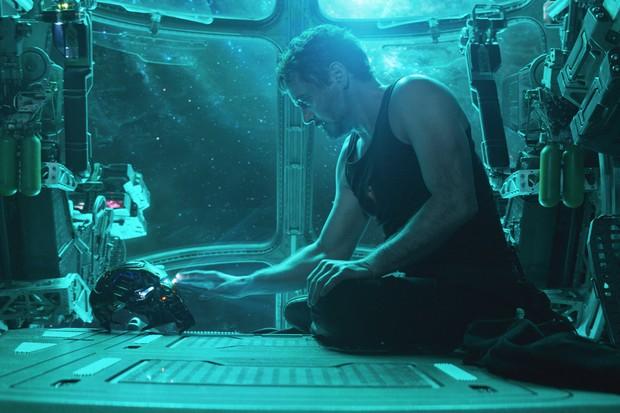 Robert Downey Jr as Tony Stark/Iron Man in Avengers: Endgame (Disney)