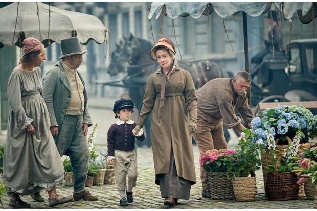 Les Miserables Paris scene