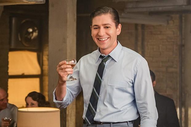 Michael Zegen plays Joel Maisel in The Marvelous Mrs Maisel