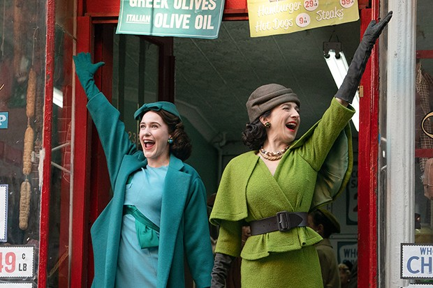 Midge and her mum in The Marvelous Mrs Maisel