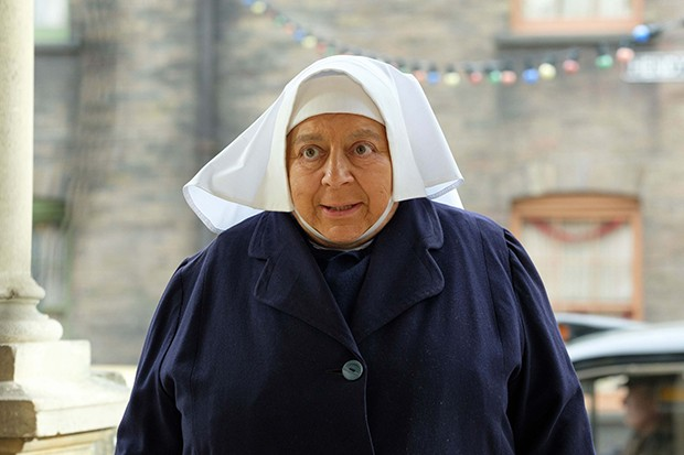 Miriam Margolyes plays Sister Mildred in Call the Midwife