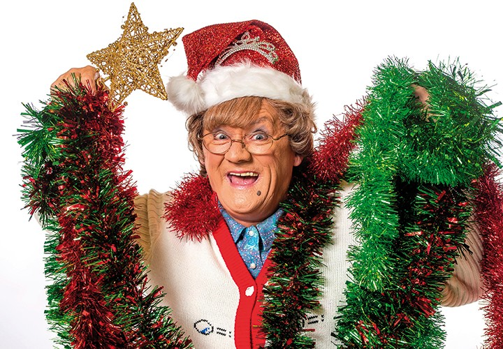 WARNING: Embargoed for publication until 00:00:01 on 27/11/2018 - Programme Name: Mrs Brown's Boys Christmas and New Year Special - TX: n/a - Episode: n/a (No. Press Release) - Picture Shows: *STRICTLY EMBARGOED, NOT FOR PUBLICATION UNTIL 00:01HRS TUESDAY 27TH NOVEMBER 2018* Mrs Brown (BRENDAN O'CARROLL) - (C) BBC - Photographer: Alan Peebles