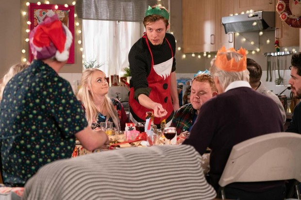 Daniel and Sinead on Coronation Street